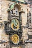 L'horloge astronomique Image stock