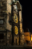 L'horloge astronomique de Prague Photographie stock