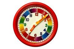L'horloge de l'enfant Photographie stock