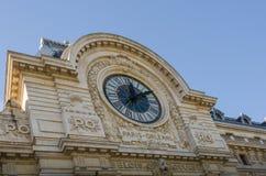 L'horloge de Musee D'Orsay à Paris, France Photo stock