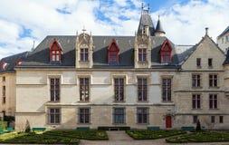 L'hotel de Sens, Parigi, Francia, è fra stile recente di primo rinascimento e gotico ed ora alloggia la biblioteca di arte di For Fotografie Stock Libere da Diritti