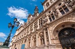 L'hotel de Ville (cityhall) of Paris Stock Photo