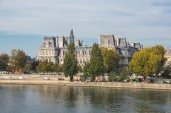 L'hotel de Ville a Parigi Fotografia Stock