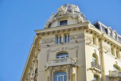 L'hotel del palazzo di Westin del punto di riferimento a Madrid, Spagna Fotografia Stock Libera da Diritti