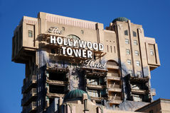 L'hotel della torretta di hollywood Fotografia Stock