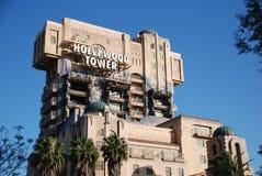 L'hotel della torretta di hollywood Fotografia Stock Libera da Diritti