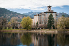 L'hotel di Broadmoor Immagine Stock