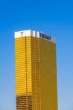L'hotel di Trump a Las Vegas Fotografie Stock