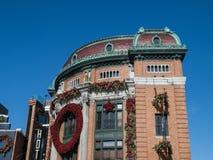 L'Hotel du Capitole la ciudad de Quebec Foto de archivo libre de regalías