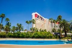 L'hotel ed il casinò di miraggio Immagine Stock