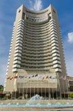 L'hotel intercontinentale Immagini Stock