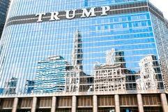 L'hotel internazionale di Trump e la torre, Chicago Fotografia Stock