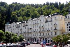 L'hotel in Karlovy varia Immagine Stock Libera da Diritti