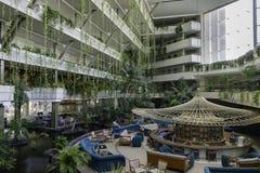 L'hotel è Live Grand Tequise Playa Fotografie Stock