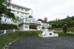 L'hotel maestoso in Kuala Lumpur fotografia stock libera da diritti