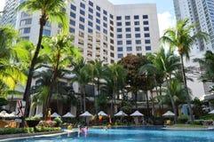 L'hotel Manila della La di Shangri Fotografia Stock Libera da Diritti