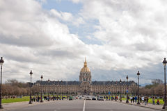 L'hotel national des Invalides Paris Royalty Free Stock Photo