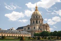 L'hotel nationale des Invalides. Parijs Royalty-vrije Stock Afbeeldingen