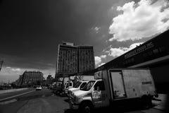 L'hotel standard e l'alta linea parco in New York Fotografie Stock Libere da Diritti