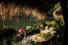 L'hotel sul fiume Kwai Fotografie Stock