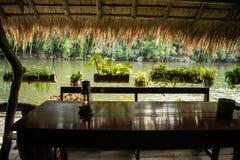 L'hotel sul fiume Kwai Immagine Stock