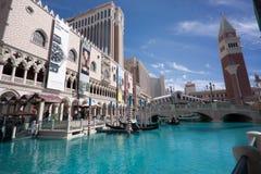 L'hotel veneziano a Las Vegas fotografia stock libera da diritti