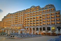 L hotell för för Nessebar mare- och solenoid Nessebar fjärd Arkivfoton