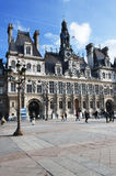 l'hôtel de ville de Paris Photographie stock