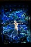 L'hublot 2011 Affichent-Bergdorf l'bon homme, NYC Photos stock