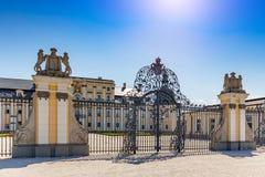 L ` Huillier科堡宫殿 图库摄影