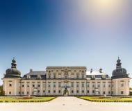 L ` Huillier科堡宫殿 库存照片