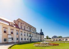 L ` Huillier科堡宫殿 免版税库存照片