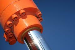 L'hydraulique photographie stock libre de droits