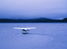 L'hydravion prêt pour décollent Photo libre de droits