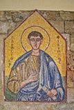 L'icône 8 de mosaïque de 10 dans l'Acropole d'Ialysos ceci est trouvée aux environs de la colline de Philerimos dans Ialysos Rhod images stock