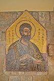 L'icône 10 de mosaïque de 10 dans l'Acropole d'Ialysos ceci est trouvée aux environs de la colline de Philerimos dans Ialysos Rho images stock