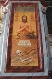 L'icône dans l'église orthodoxe Photo libre de droits