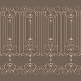 L'icône de Brown Art Background grande pour en emploient Vecteur eps10 Photographie stock