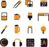 L'icône de bureau a placé 03 illustration de vecteur