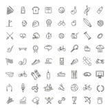 L'icône de Web d'ensemble a placé - sport et forme physique Photographie stock libre de droits