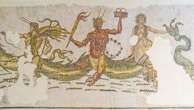 L'Ichthyocentaurs antique dans le musée de Bardo photo libre de droits