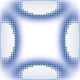 L'icona circonda la struttura dinamica Fotografia Stock Libera da Diritti