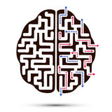 L'icona del cervello royalty illustrazione gratis
