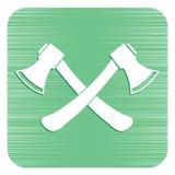 L'icona dell'ascia Simbolo dell'ascia Immagine Stock Libera da Diritti