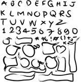 L'icona della nota e della freccia dentella il fondo, backaground per il rosa immagini stock libere da diritti