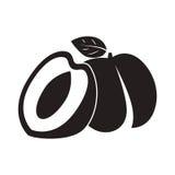 L'icona della pesca, vector il simbolo piano Immagini Stock Libere da Diritti