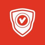 L'icona dello schermo Simbolo di obbligazione piano Fotografie Stock Libere da Diritti