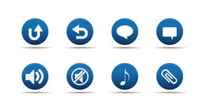 L'icona di Web ha impostato 6   Aloha serie Immagini Stock
