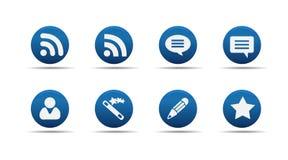 L'icona di Web ha impostato 7 | Aloha serie Fotografie Stock Libere da Diritti