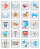 L'icona di Web. immagine di vettore. Fotografie Stock Libere da Diritti